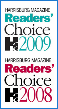 Harriburg Readers Choice Award 2008-09